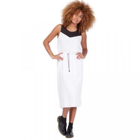 Volcom Get In Line Dress - white Größe: L Farbe: White L | White