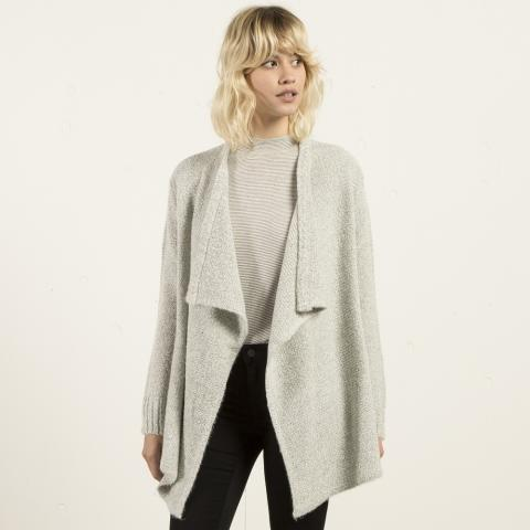 Volcom Cold Daze Wrap - heather grey Größe: XS/S Farbe: HEATHER_GR XS/S | HEATHER_GR