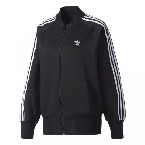 Adidas 3 Streifen Tracktop - black Größe: M Farbe: Black M | Black