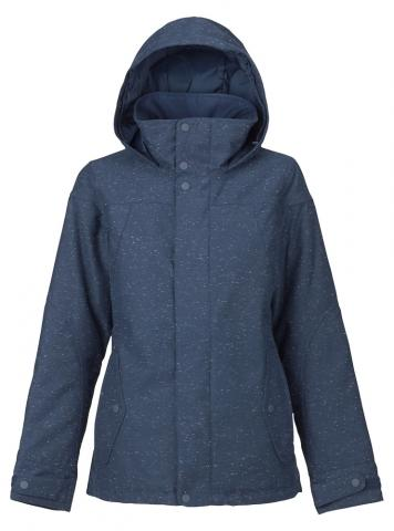 Burton Jet Set Jacket - mood indigo fleck Größe: S Farbe: MoodIng S | MoodIng
