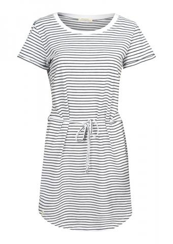 Recolution Shirtdress Basic - white navy striped Größe: S Farbe: whitenavys S | whitenavys