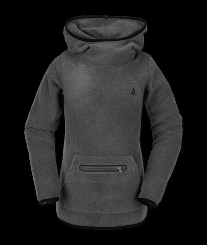 Volcom Polartec Mid - heather grey Größe: S Farbe: heathergre S   heathergre