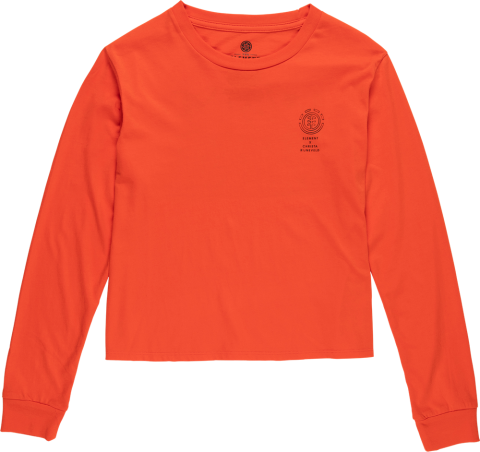 Element Christa Crop - grenadine Größe: S Orange: grenadine S   grenadine