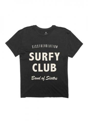 Sisstr Surfy Club - charcoal Größe: M Grau: charcoal M | charcoal