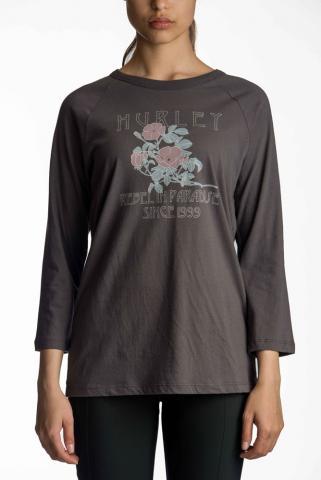 Hurley Rebel Flowers - thunder grey Größe: S Farbe: thundergre S | thundergre