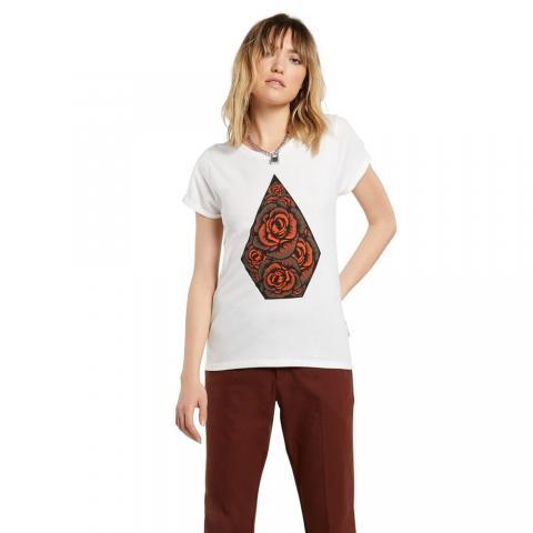 Volcom wms T-Shirt Radical Daze SWH Größe: L Weiss: starwhite L   starwhite
