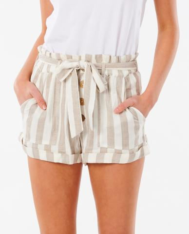 Rip Curl Ashore Stripe - taupe Größe: S Bunt: taupe S | taupe