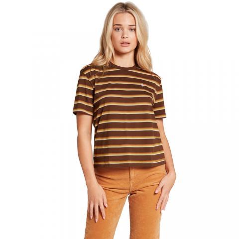 Volcom Choice Is Yours - brown Größe: S Braun: brown S | brown