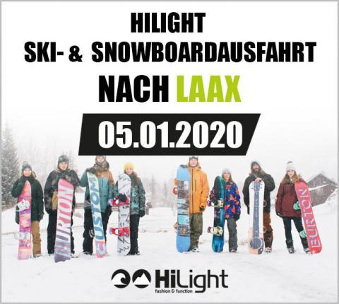 Ski- & Snowboardausfahrt Laax - 05.01.2020 JGDL (bis 17 Jahre)