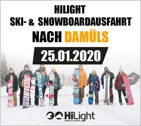Ski- & Snowboardausfahrt Damüls - 16.03.2019