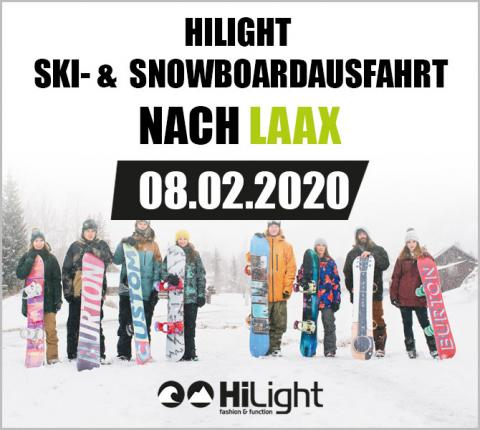 Ski- & Snowboardausfahrt Laax - 23.02.2019