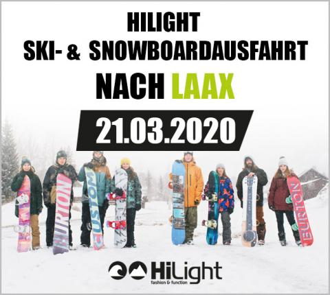 Ski- & Snowboardausfahrt Laax - 21.03.2020 ERW & JGDL (3-99 Jahre)