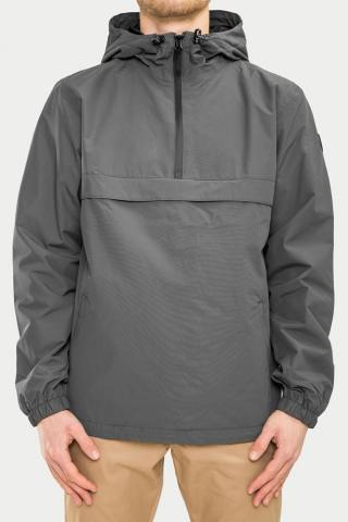Reell Hooded Windbreaker - grey Größe: L Farbe: Grey L | Grey