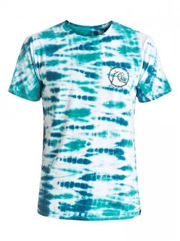 Quiksilver Mellow Out Tie Dye T-Shirt - white Größe: M Farbe: White M | White
