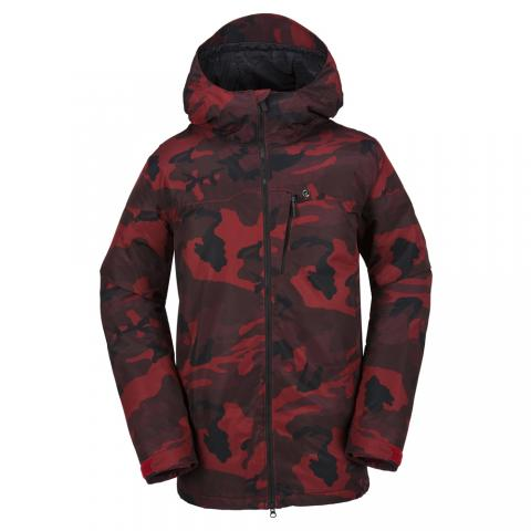 Volcom Prospect Ins - red Größe: S Farbe: RED S | RED
