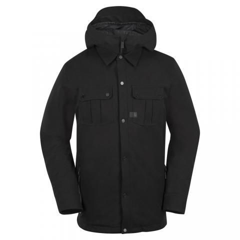 Volcom Creedle2Stone - black Größe: S Farbe: BLACK S | BLACK