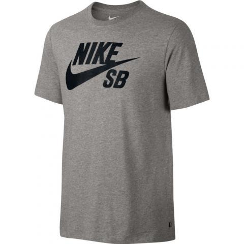 Nike SB SB T-Shirt - grey Größe: S Farbe: DkGreyHt S | DkGreyHt