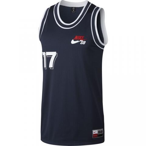 Nike SB Court Jersey - blue Größe: L Farbe: ObsdnWht L | ObsdnWht