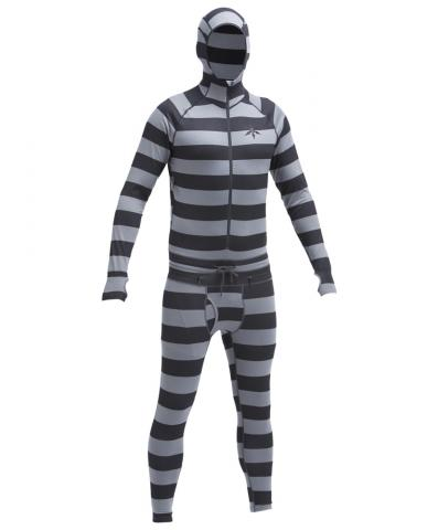 Airblaster Classic Ninja Suit - grey stripe Größe: M Farbe: GreyStrp M | GreyStrp
