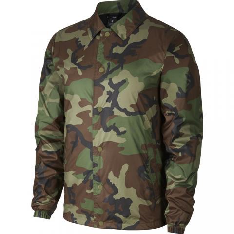 Nike SB Coaches Jacket - medium olive/black Größe: L Farbe: MdmOlv L | MdmOlv