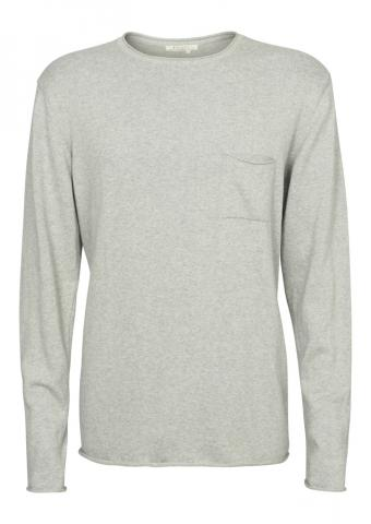 Recolution Light Knit #POCKET - grey melange Größe: M Farbe: greymelang M | greymelang