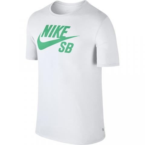Nike SB Icon Logo Tee - white menta Größe: S Farbe: whitementa S | whitementa