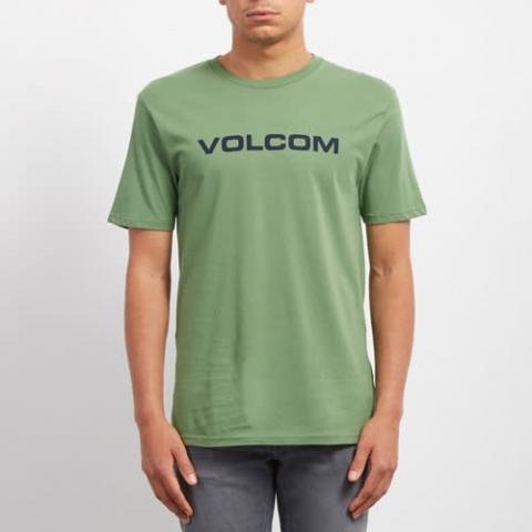 Volcom Crisp Euro BSC SS - dark kelly Größe: XL Farbe: darkkelly XL | darkkelly