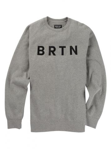 Burton BRTN Crew - gray heather Größe: S Farbe: grayheathe S | grayheathe