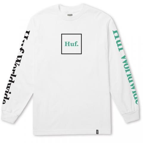 Huf Domestic - white Größe: L Farbe: white L | white