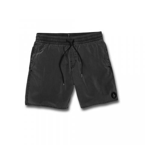Volcom mns Boardshort Center Trunk BLK Größe: M Farbe: black M | black