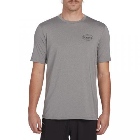 Volcom Lit S/S - grey Größe: S Farbe: grey S | grey