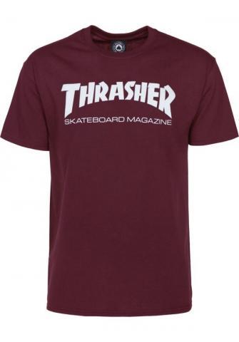 Thrasher Skate Mag - maroon Größe: S Farbe: maroon S | maroon