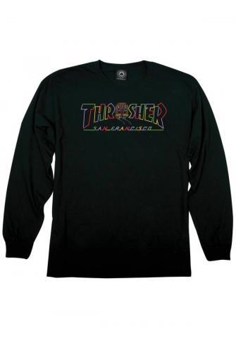 Thrasher Cable Car - black Größe: XL Schwarz: black XL | black