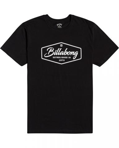 Billabong mns T-Shirt Trademark black Größe: M Schwarz: black M | black