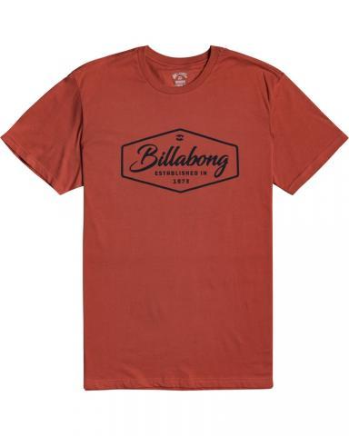 Billabong mns T-Shirt Trademark deep red Größe: S Rot: deepred S | deepred