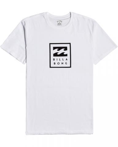 Billabong mns T-Shirt Unity Stacked white Größe: S Weiss: white S | white