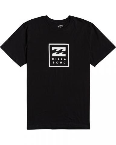 Billabong mns T-Shirt Unity Stacked black Größe: S Schwarz: black S | black