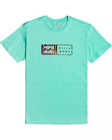 Billabong mns T-Shirt Inversed light aqua Größe: M Farbe: lightaqua M | lightaqua