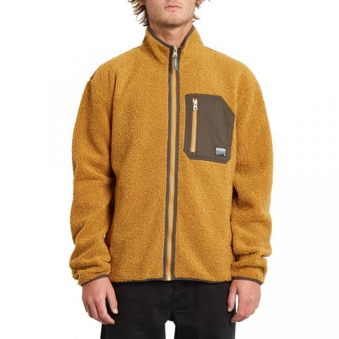 Volcom Muzzer Fuzzar - goldenbrown Größe: XL Farbe: goldenbrow XL | goldenbrow