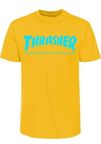 Thrasher Skate Mag - gold Größe: M Farbe: gold M | gold