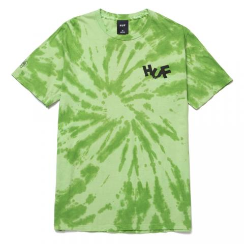 Huf Haze Brush Tie Dye - lime Größe: M Grün: lime M   lime