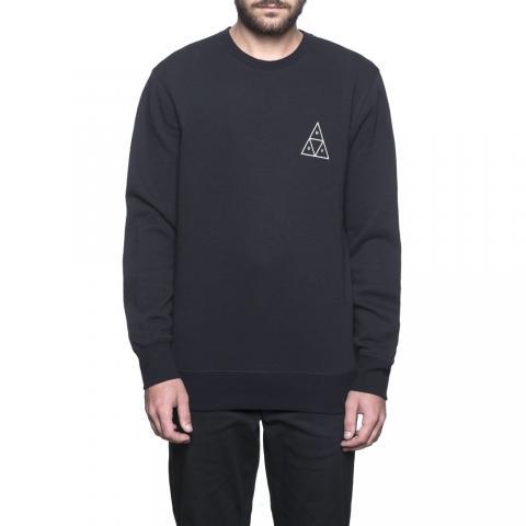 Huf Essentials Triple Triangle - black Größe: L Schwarz: black L   black