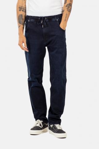 Reell Jogger Jeans - knitted blue black Größe: M Blau: knittedblu M | knittedblu