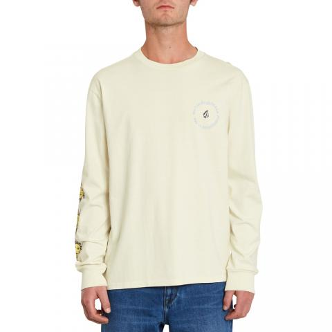 Volcom Ozzy Wrong - off white Größe: S Weiss: offwhite S | offwhite