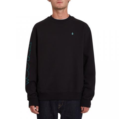 Volcom mns Sweatshirt FA Max Loeffler BLK Größe: S Farbe: black S | black