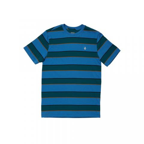 Volcom Keates Stripe - ballpoint blue Größe: 140_L Blau: ballpointb 140_L | ballpointb