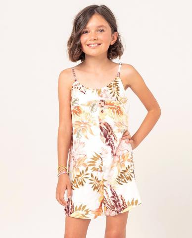 Rip Curl Tallows Romper Girl - white Größe: 116_S Farbe: white 116_S | white