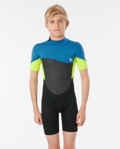 Rip Curl Jnr. Omega 1.5 - neon lime Größe: 110_XS Farbe: neonlime 110_XS | neonlime