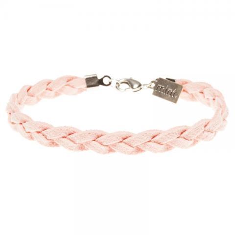 Mint Armband Suede Braided Bracelet Farbe: SilverLiPi SilverLiPi