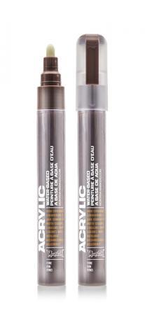 Montana ACRYLIC Marker 2mm Fine - SH8010 Brown Farbe: Shock Brow Breite: 2mm Shock Brow | 2mm